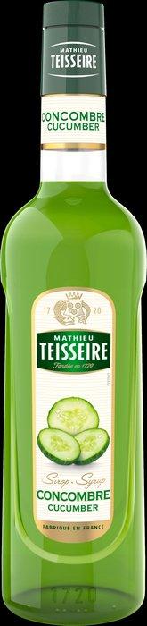 Teisseire 糖漿果露-小黃瓜風味 Concombre  法國頂級天然糖漿 700ml-【良鎂咖啡精品館】
