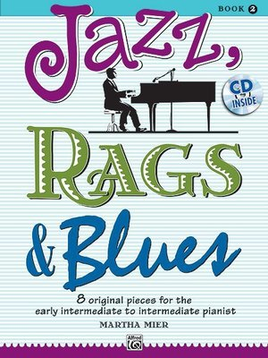 【599免運費】Jazz, Rags & Blues, 【書+1CD】Book 2  Alfred 00-36724