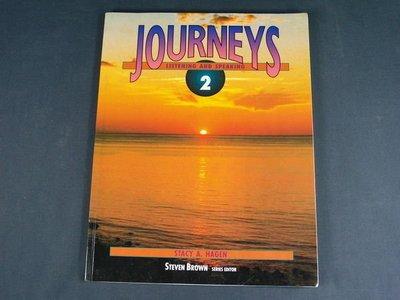 【懶得出門二手書】《Journeys Listening and Speaking 2》Prentice Hall│八成新