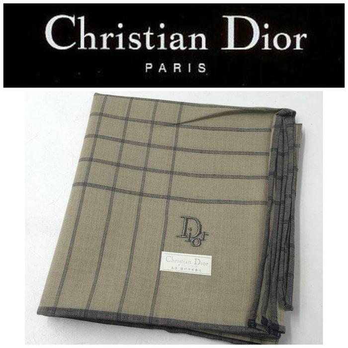 【皮老闆二店】樂2012 新古真品 Christian Dior 手帕 方巾 46*46