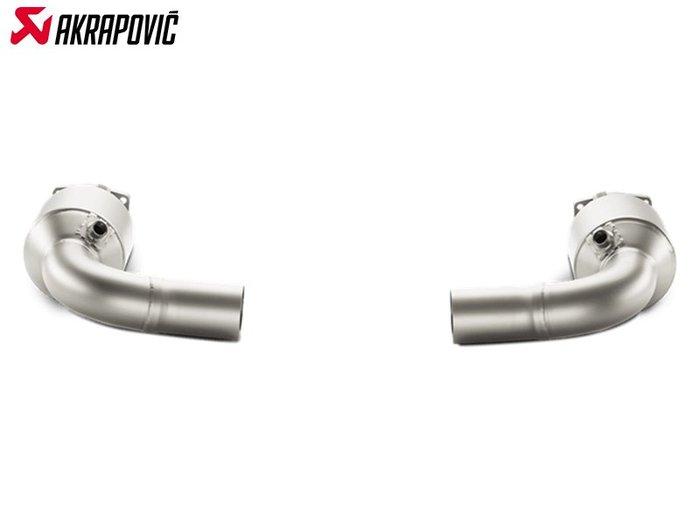 【樂駒】Akrapovic PORSCHE 911 TURBO S 991 鈦合金 當派 中段 排氣管 觸媒 輕量化