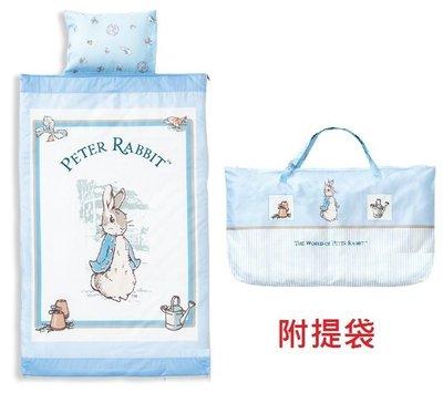 台灣製造奇哥經典比得兔幼教兒童兩件式睡袋經典彼得兔幼教兒童兩件式睡袋 Peter Rabbit幼稚園睡袋幼稚園兒童睡袋