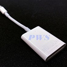 ☆【APPLE 蘋果 Lightning 轉 SD 卡 相機讀卡機】展示品 A1595