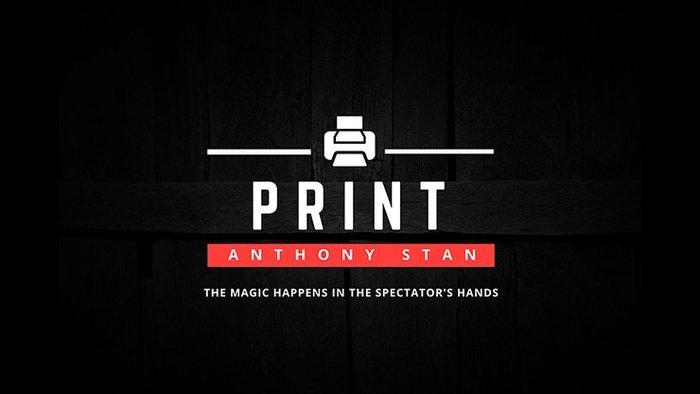 【天天魔法】【S1144】正宗原廠~印刷術~PRINT by Anthony Stan