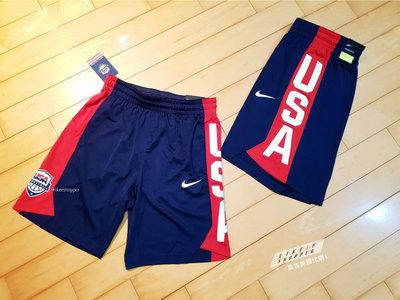 來吉美國代購✅  NIKE USA BASKETBALL 美國男籃 奧運夢幻隊 球員練習賽用球褲