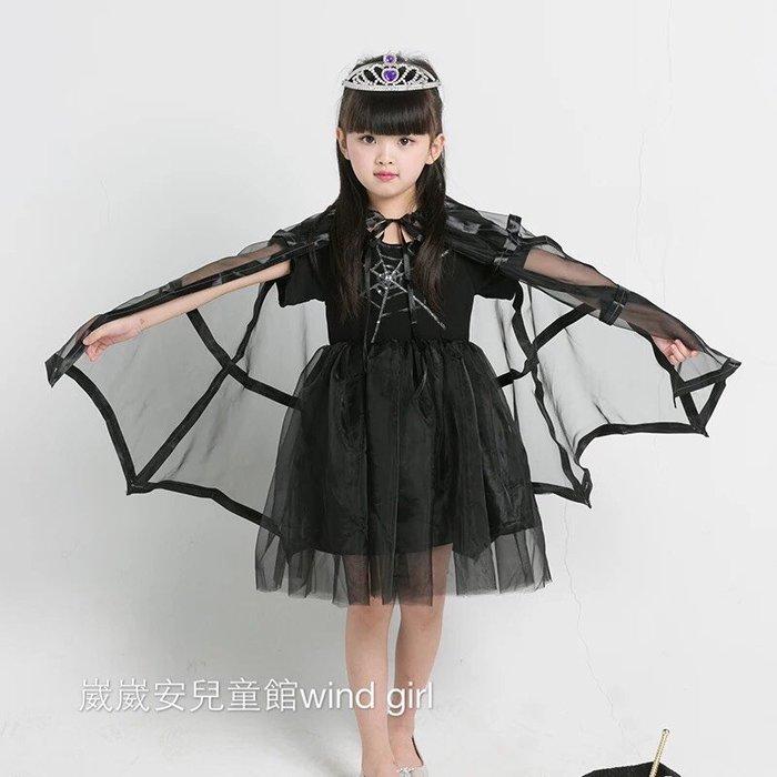 萬聖節蝙蝠俠服裝套裝女童表演出套裝蝙蝠俠衣服表演服裝cosplay 萌 現貨+預購--崴崴安兒童館