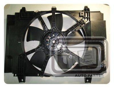 【TE汽配通】NISSAN 日產 TIIDA 1.8 風扇總成 水扇 冷扇 日本馬達 台製外銷件