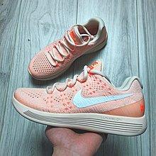 D-BOX Nike LunarEpic Low Flyknit 2 橘粉 透氣針織 街頭 運動鞋 女休閑鞋