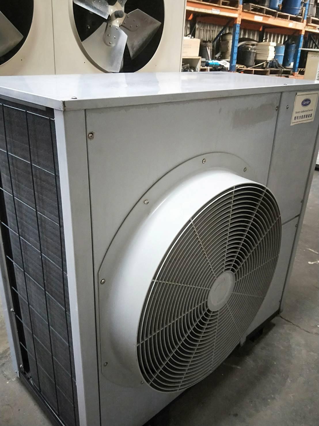 (大台北)中古開利15RT氣冷冰水機3φ380V(編號:CA1071002)~適用各廠辦及餐飲業