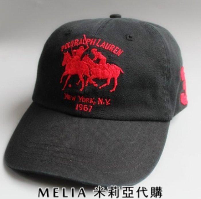Melia 米莉亞代購 美國店面+網購 Ralph Lauren Polo 大馬 帽子 棒球帽 馬球刺繡圖 多色 衝評價