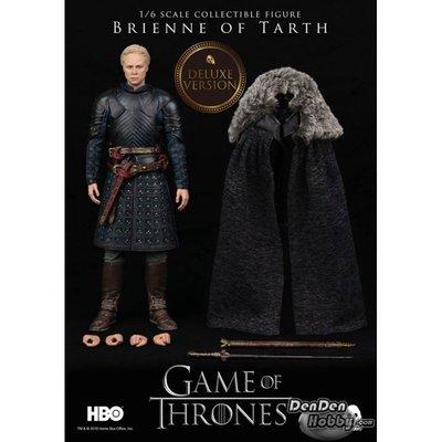 全新現貨 Threezero GAME OF THRONES 權力遊戲 Brienne of Tarth 塔斯的 布蕾妮 Deluxe Version