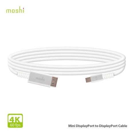 【貝殼】Moshi Mini DisplayPort to DisplayPort 傳輸線(4K / 60 fps)