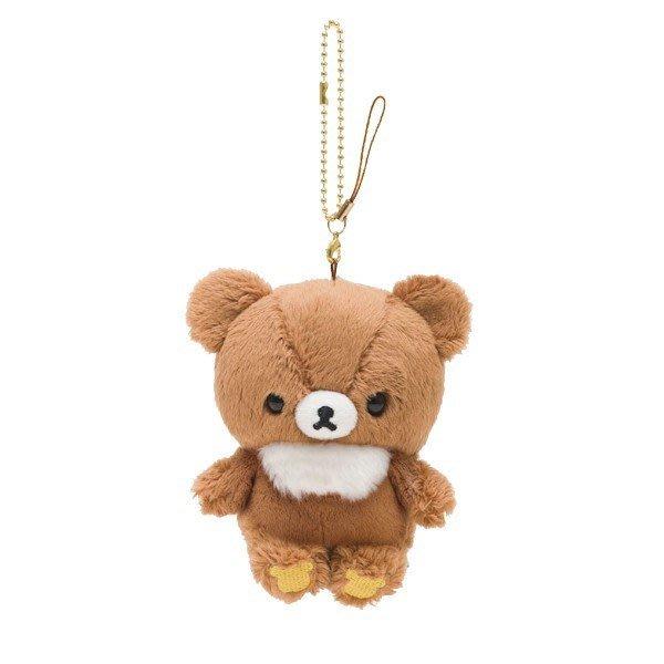 日本SAN-X拉拉熊懶懶熊森林小熊絨毛玩偶吊飾--秘密花園