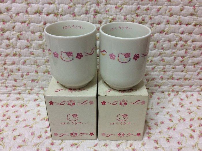 Sanrio hello kitty 日式和風茶杯組《日本製.2000年商品》收藏特價出清