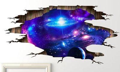 [808 MAGIC] 魔術道具 3D貼紙-宇宙款 拼好尺寸60*90cm