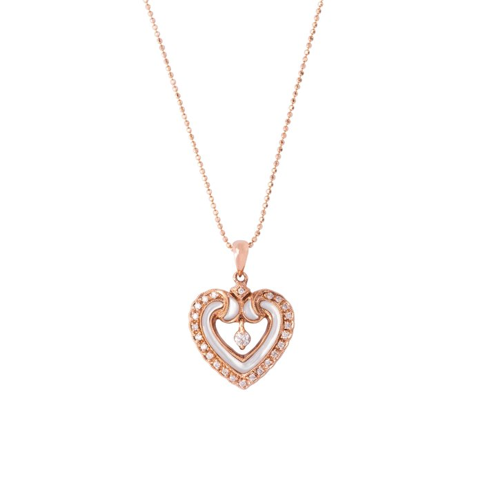 【JHT金宏總珠寶/GIA鑽石專賣】0.28ct天然鑽石項鍊/材質:750(JB52-A21)