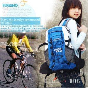 自行車背包【推薦+】哪裡買/弓形網架自行車背包(附防雨罩)P070-D475125(後背包.運動背包