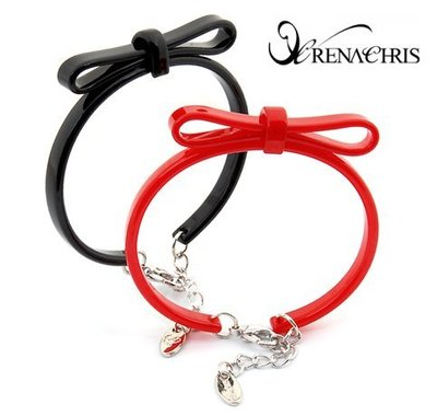 BHI1116-法國品牌RenaChris 超可愛蝴蝶結手環 手鍊【韓國製】