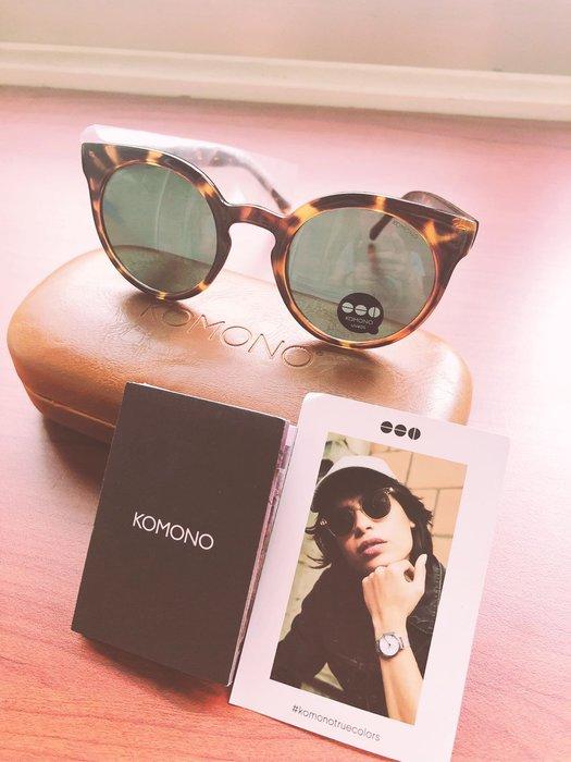 比利時品牌 KOMONO Lulu系列 Crystal Giraffe太陽眼鏡(轉售)