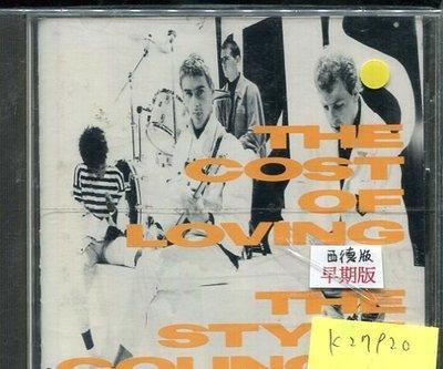 *真音樂* THE STYLE COUNCIL / THE COST OF LOVING 二手 K27920