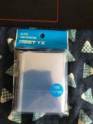 寶可夢PTCG POKEMON 64*89mm 貼身卡膜 薄膜 開口版 一包100張 可放卡磚內