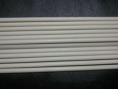 pvc條6mm圓塑膠條 塑膠棒 適合:手工藝.內襯加重.旗竿