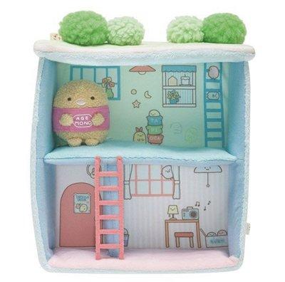 【甜甜日貨】日本正版→SAN-X角落生物 角落動物 豪華屋頂庭院 屋子背景擺件組合 玩偶娃娃 擺飾