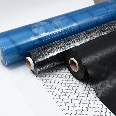 溫馨PVC防靜電網格簾黑色窗簾無塵室軟門簾0.3/0.5/1.0MM透明防靜電簾罐罐
