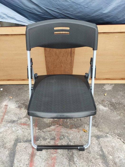 非凡二手家具 全新品 扁管折合椅*折疊椅*大學椅*鐵椅*書桌椅*補習班課桌椅*折合椅*洽談椅*辦公椅*電腦椅340-2