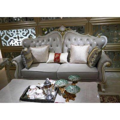 [紅蘋果傢俱]MDS-010 1+2+3沙發椅 茶几 新古典沙發 皮沙發 休閒沙發 現代 歐式沙發 法式沙發