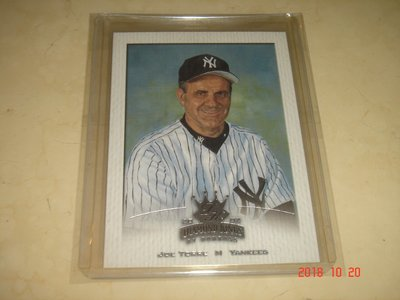 美國職棒 Yankees Manager Joe Torre 02 Donruss Diamond Kings 球員卡