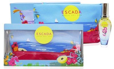 ESCADA Agua del Sol 水舞香頌 香水 30ML ( 香水30ml 化妝包) ☆MUSE 愛美神☆