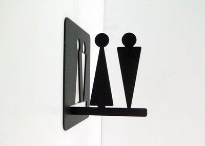 *正面跟側面都可看到標示*不鏽鋼小廁所...