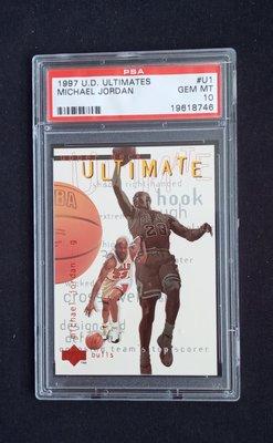 PSA 10 Michael Jordan 1997 UD Ultimates #U1 免運費
