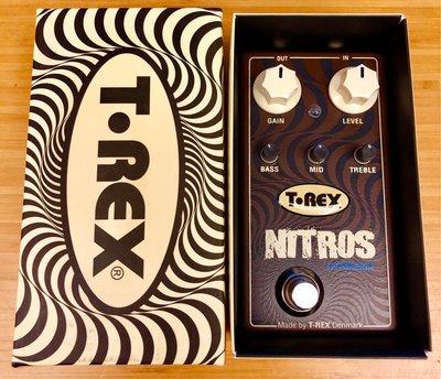 T-Rex Engineering Nitros Hypergain Distortion