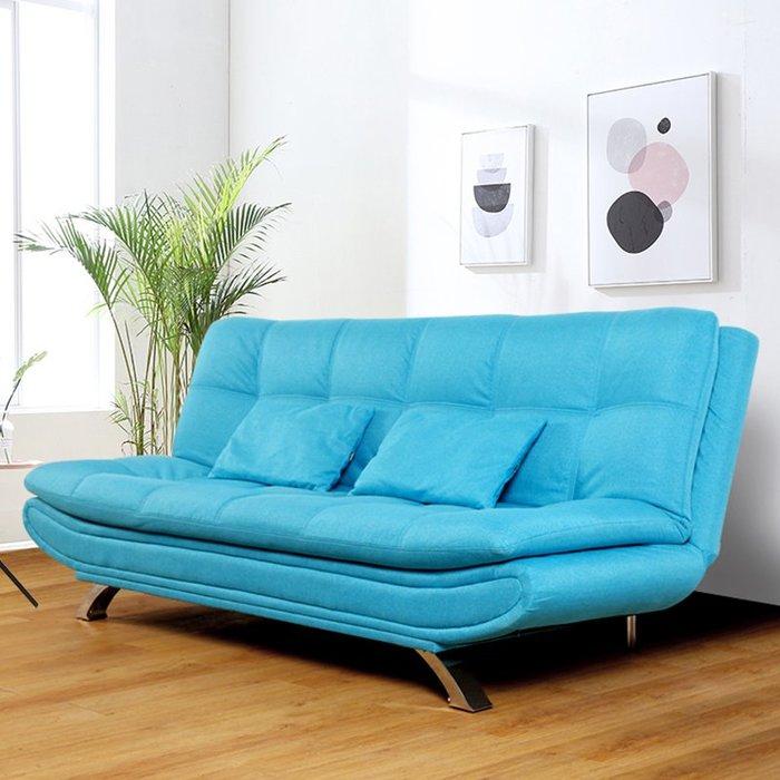 布藝沙發簡約現代客廳沙發小戶型整裝午休折疊床臥室懶人沙發床【優品城】