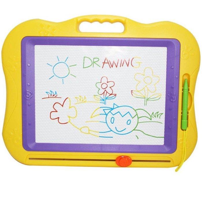 【W先生】彩色磁性畫板 兒童畫版 彩色畫板 神奇畫板 手寫板 彩色 磁板 畫板 磁性畫板