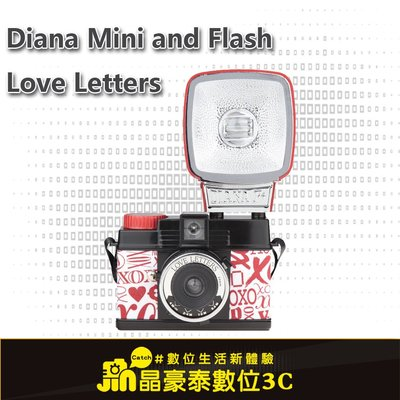 Lomography Diana Mini and Flash Love Letters 晶豪泰3C 專業攝影