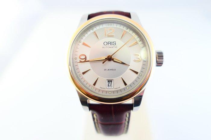 [吉宏精品交流中心]ORIS 豪利時 不鏽鋼 自動機械 37mm 皮帶 男錶