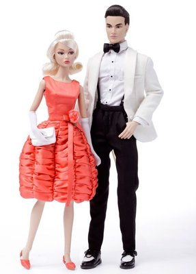 Fashion Royalty Poppy Parker Baby it's you 雙人禮盒 PP娃娃