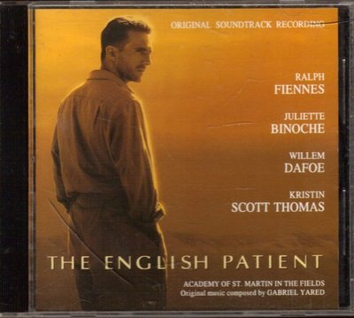 英倫情人 The English Patient 電影原聲帶 CD