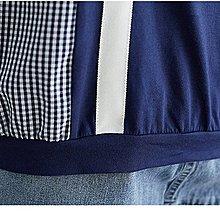 新款撞色寬鬆顯瘦拼色小襯衫棉衫 萌蔓物語【KX3171】韓氣質女上衣