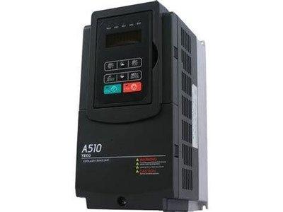 【泵浦五金】東元變頻器 A510 三相220V 5HP~可當變相機使用~單相220V變三相220V