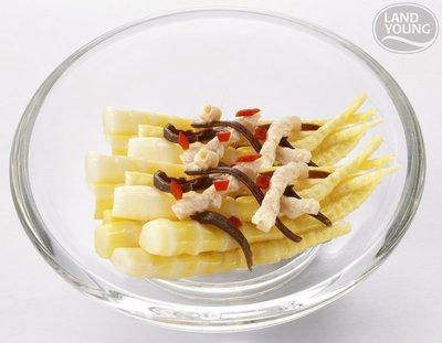 【素食年菜】鮮嫩劍筍 (海師傅) / 約1000g ~ 素食可~含豐富的膳食纖維 解凍即可食用