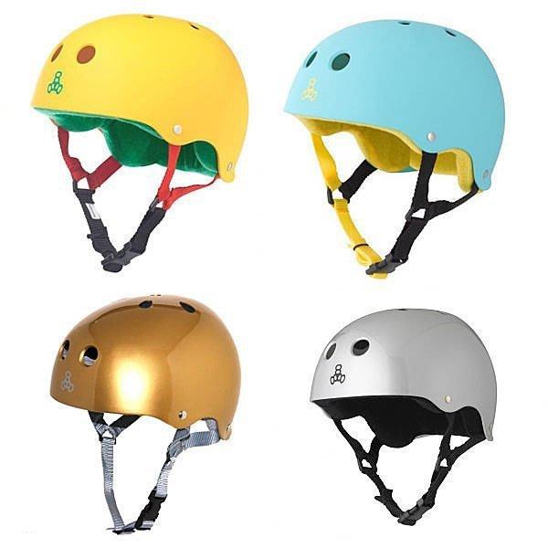 Triple 8 Longboard(長板滑板/ 交通板/ 衝浪滑板) - Longboard專用安全頭盔(特色款)