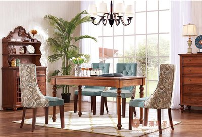 [紅蘋果傢俱] ST-036 新美式系列 鄉村 仿古 現代 餐桌 餐椅 多功能櫃 餐邊櫃 裝飾櫃 小櫃子 工廠直營