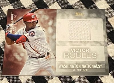 Victor Robles 2020 Topps Update Series Game-Used Memorabilia #MLM-VR