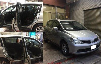 ☆久豆麻鉄☆ Nissan Tiida 可用 (四門氣密) 全車隔音套組 汽車隔音條 靜化論 芮卡國際 公司貨