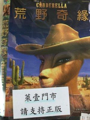 萊壹@53676 DVD 有封面紙張【荒野奇緣】全賣場台灣地區正版片