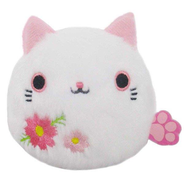 【波斯菊 沙包貓娃娃】貓沙包 沙包貓  娃娃 波斯菊貓 日本正版 該該貝比日本精品 ☆